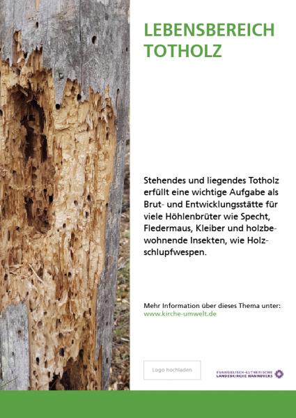 Themenschild Biodiversität - 300x400mm Hochformat